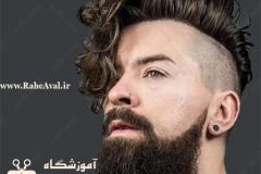106-مدل موی فشن فر مردانه