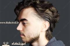 مدل موی شلوغ
